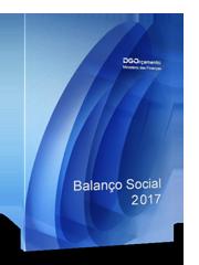 [Capa do Relatório do Balanço Social de 2016, da DGO]